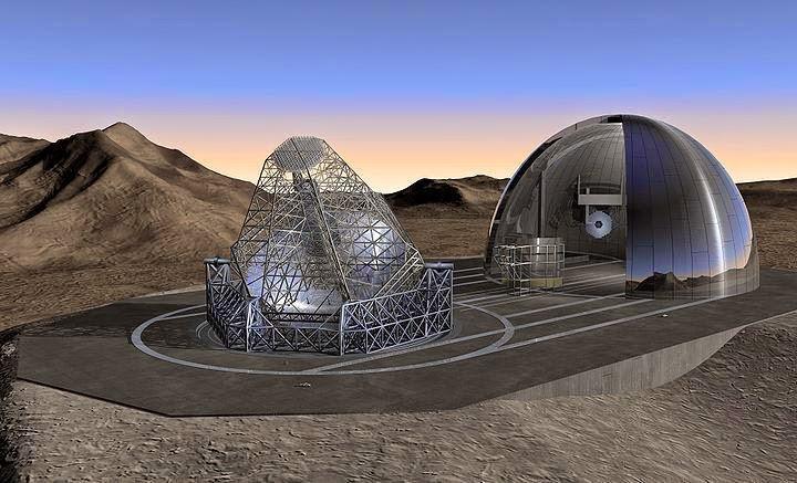 arxizei-i-kataskeui-tou-megaluterou-tileskopiou-ston-kosmo