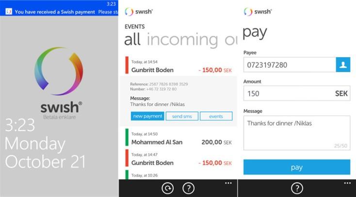 swish_app payment